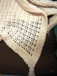 Using a size 5 mm crochet hook and 8-ply acrylic yarn you can easily make this fabulous free crochet afghan pattern. It uses the front loop ...