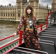 #AlexaChung covers Numero #Tokyo October 2012 and confirms clothing line