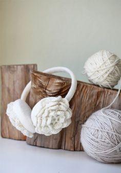 Crochet Headphones Inspiration ❥ 4U // hf