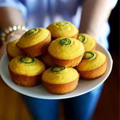 gluten free jalapeno cornbread muffins