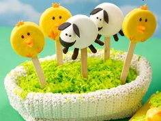 holiday, easter crafts, cake pop