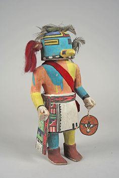 ca. 1940 Navajo Tasap Katsina
