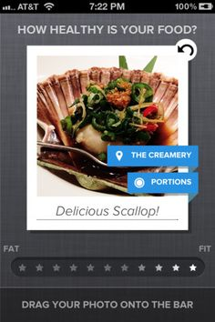 rating images on the eatery