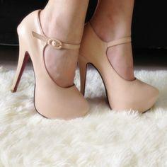 mari jane, platform, mary jane shoes, high heel, mary janes, high fashion, heels, nude high, jane pump