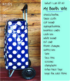 craft fairs booth ideas tote bag | booth bag
