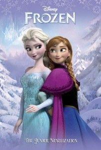 Disney Frozen – The Junior Novelization Book #disneyfrozen #disneyfrozenelsa #disneyfrozenanna