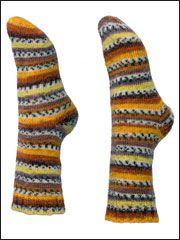 Easy Toe-Up Socks Knit Pattern from www.AnniesCatalog.com. Order here: http://www.anniescatalog.com/detail.html?prod_id=83659
