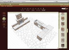 build an outdoor fireplace area