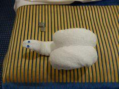 towel art, balconi cabin, towel anim, ship towel, towel origami, towel fold, fold towel