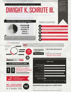 The fictional resume of Dwight Schrute | The Office | #TheOffice