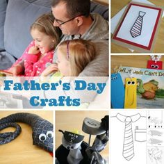 What better gift for dad than something homemade from the heart. Kids will love to craft up a silly snake tie, a monster bookmark, or even some family fridge magnets! Here are 9 fabulous Father's Day crafts to make this weekend, just in time for Sunday! Make a Snake Tie Sock Puppet Golf Covers Father's …