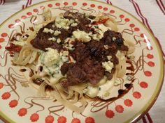 Steak Gorgonzola Alfredo - Olive Garden Copy Cat Recipe