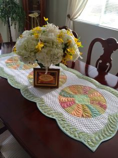Sew Kind Of Wonderful: Happy 50th Anniversary!! ~ Table Runner
