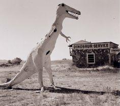 Steve Fitch - Gas station, Highway 40, Jensen, Utah, 1971