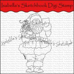 Isabella's Sketchbook Digital Stamp