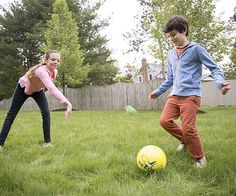 "Teach your kids how to play ""Asteroid,"" a new backyard ball game, so they can practice teamwork skills."