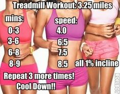 Treadmill Workout!!