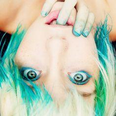 Cute hair - vibrant color