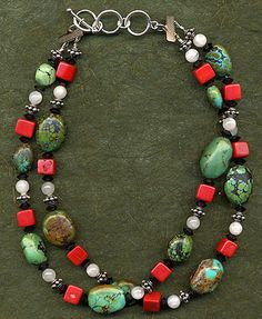 beads, jewelry, necklace, turquoise