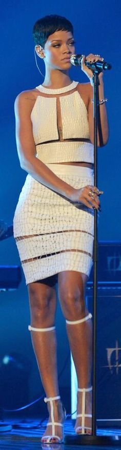 Rihanna in Alexander Wang