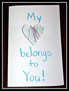 Super Simple Valentine's Cards -- easy enough for infants on up!