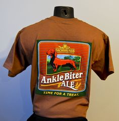 III Dachshunds brewery, Cudahy, WI. Ankle Biter Ale t-shirt