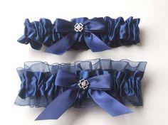 Navy Blue Garter Belt- Etsy!