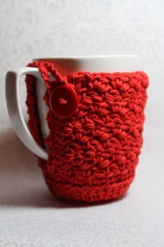 2013 Christmas mug ideas, cute knit mugs cover, DIY Christmas mug table decor