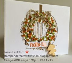 Stamp and Create With Susan: Falling For The Paper Players