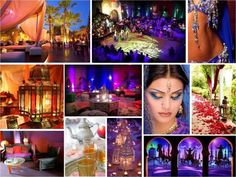 Arabian nights wedding/party inspiration