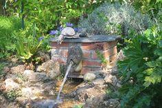 Fontaine aux statues d'animaux
