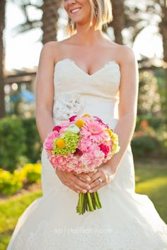 pink, yellow, spring bouquet Stephie Joy Photography : Jacksonville and St. Augustine Florida Wedding and Lifestyle Photography » Jacksonville and St. Augustine Florida ...