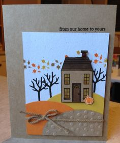 From Our Home to Yours www.stampingwithlinda.com Check out my Stamp of the Month Kit Program Linda Bauwin – CARD-iologist Helping you create cards from the heart.