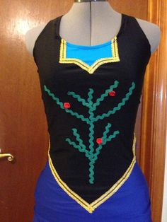 Winter Princess running costume on Etsy, $160.00