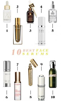 10 Best Face Serums