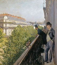 Gustave Caillebotte - Un Balcon, 1880