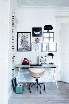 .love the chair and the small space