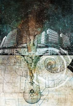 a Tumblr of Architectural drawings. too many awesome ones to pin them all!! Visit often.