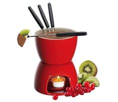 Chocolate Fondue Set from Cilio by Frieling #ValentinesDay