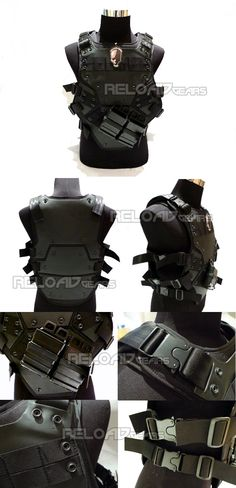 TMC TF3 Transformer 3 Tactical Foam Vest (Black)