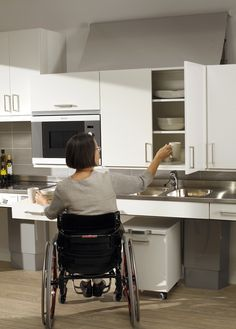 Universal Design Kitchens On Pinterest Wheelchairs Kitchen Cabinets And Cabinets