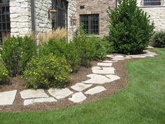 y walkway front yard | Walkways :: :: RYCO Landscaping