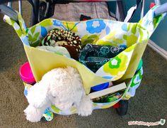 DIY Stroller Bag: Made By Marzipan