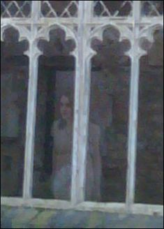 Pictures taken by Kevin Horkin at Gwrych Castle in Abergele, North Wales and may have captured a spirit.  Kevin didn't notice anything unusual until he downloaded the pictures to his PC. In one of the photos was the image of a pale young woman looking out a window. Amazingly, it's impossible for anyone to stand at that particular window because the floor in the room is completely destroyed.