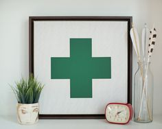 Swiss Cross Canvas