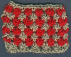 Two Color Star Stitch