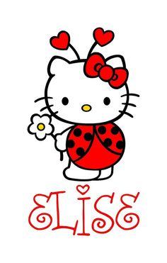 Hello Kitty Valentine Ladybug