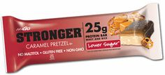 NuGO STRONGER: Caramel Pretzel - LOVE for pre-run meal. Clean burning and no indigestion! Perfection.