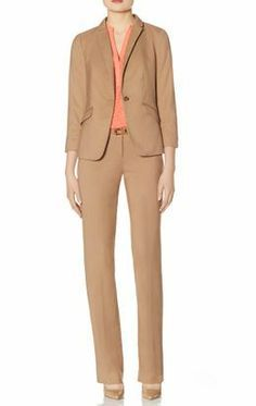 Create this look with our Soft One Button Jacket and Drew Soft Flare Pants from THELIMITED.com Other colors and styles available.  #TheLimited #LTDWellSuited