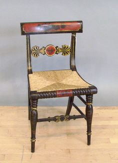 "Baltimore Painted ""Fancy"" furniture 1790-1840"